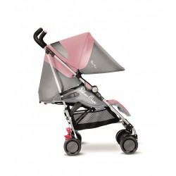 Silla POP 2  Silver Cross Pink Grey