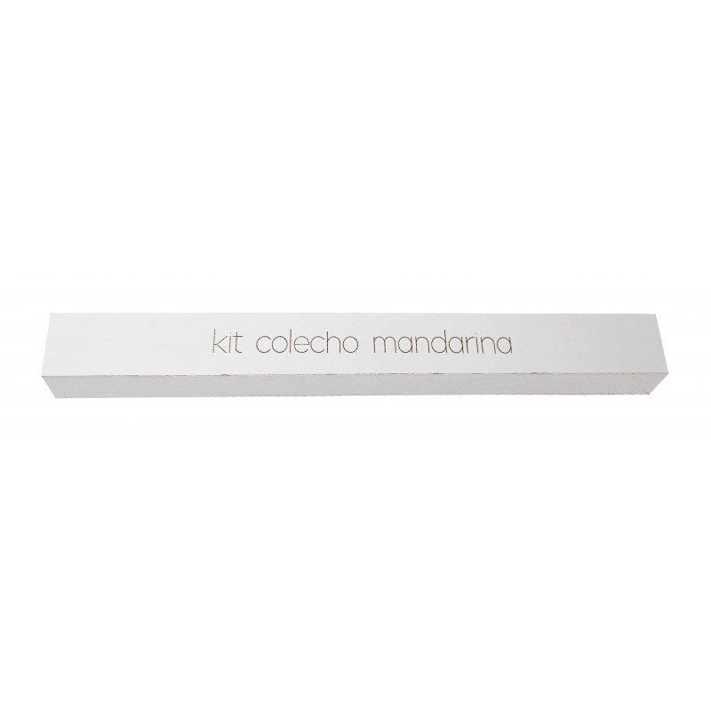 Kit COLECHO Mandarina cuna Amore y Aloha
