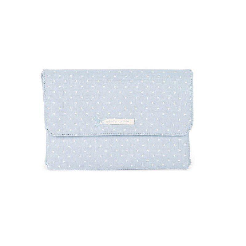 Cambiador bolso Atelier azul de Pasito a Pasito