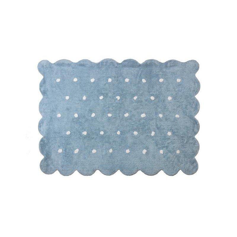 Alfombra lavable Cookie Azul Celeste