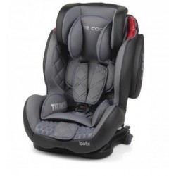 Silla de coche Be Cool Thunder Isofix moonlight gris