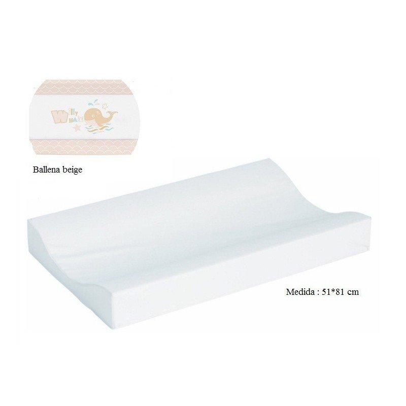 Cambiador de bañera flexible 80*50 Ballena beige