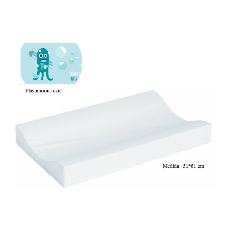 Cambiador de bañera flexible 80*50 Plastimoons azul