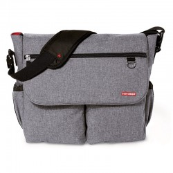 BOLSO PAÑALES SKIPHOP DASH SIGNATURE HEATHER GREY