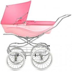 Coche Clasico Kensington Silver Cross Pink rosa