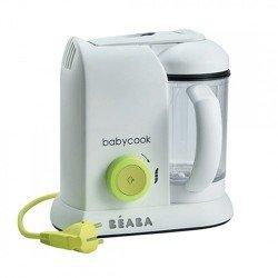 Babycook Solo Beaba neon + Libro Kid Cook de regalo