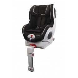 Silla de auto 0-1 isofix contramarcha Suecia de Mondial Safe + Babyled de regalo (negro-blanco)