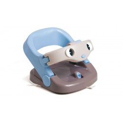 Asiento de baño giratorio abatible azul de Olmitos