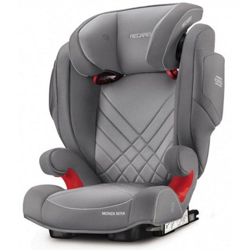 Sillas de coche Monza nova Seatfix 2017 Grey Aluminium de Recaro