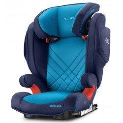 Sillas de coche Monza nova Seatfix 2017 Blue Xenon de Recaro