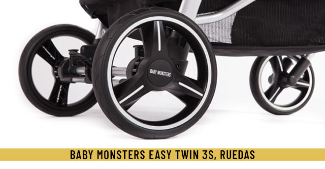 Ruedas easy twin 3s