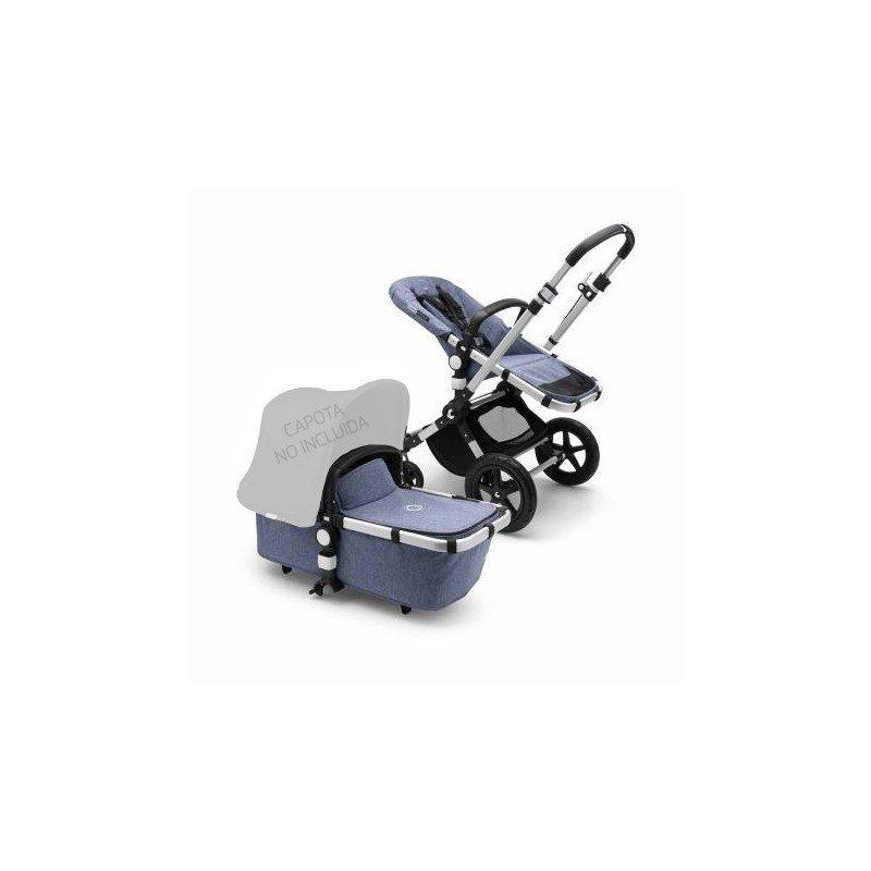 Base Bugaboo Cameleon 3 plus chasis Aluminio - base azul melange