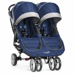 Silla City Mini Gemelar azulon-gris