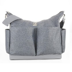 Bolso Tote Diaper Bag Ryco -  Autumn Grey