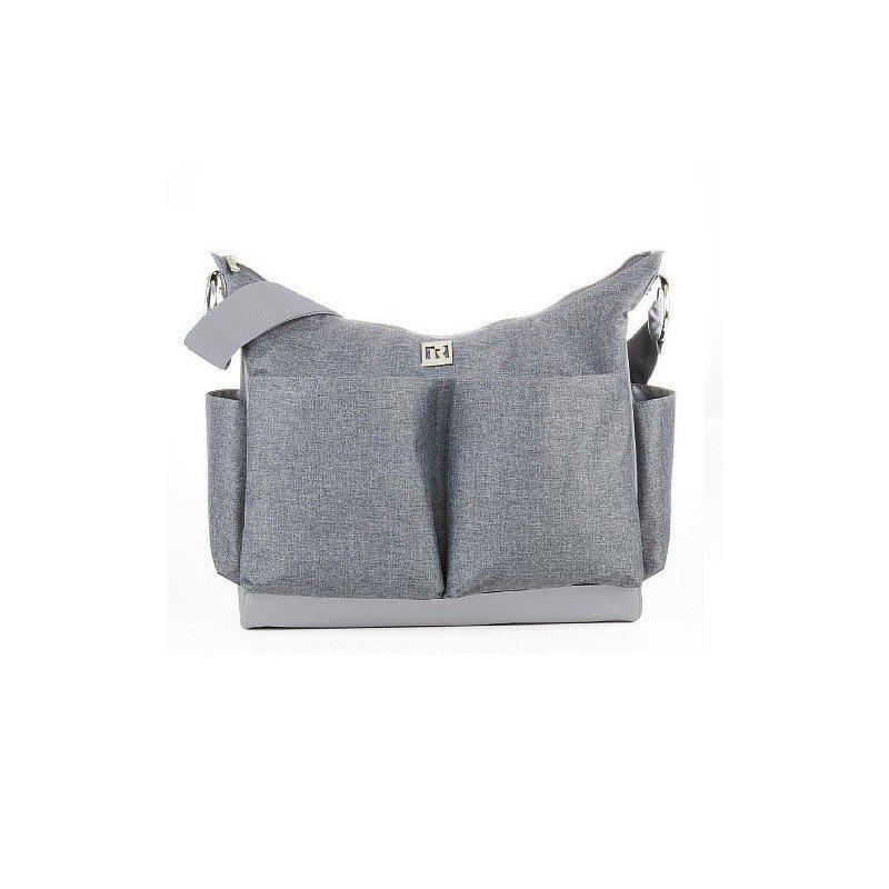 Bolso Tote Diaper Bag Ryco -  Autumn Grey