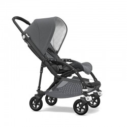 Bugaboo Bee 5 Classic Collection Negro-Gris Melange