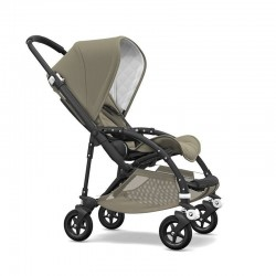 Bugaboo Bee 5 Classic Collection Negro-Taupe