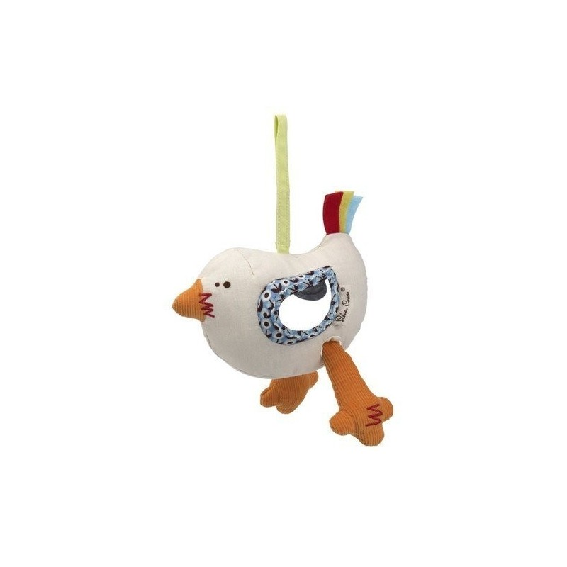 Sonajero Bertha Bird Travel Toy