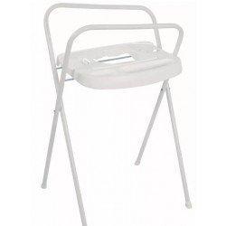 Bébé-Jou Soporte de bañera Blanco Aluminio