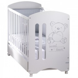 Pack cuna sweet bear + kit colecho +...