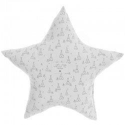 Cojín Decorativo Estrellas Gris Tippy