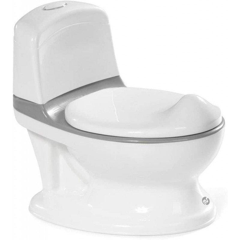 Orinal potty blanco gris