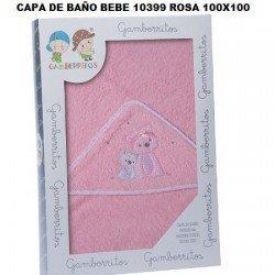 Capa de Baño Perritos Lazo Gamberritos