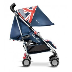 Silla Pop Cool Britannia Silver Cross
