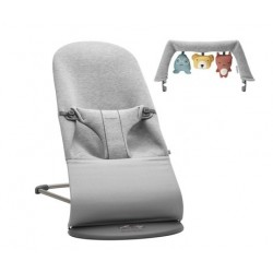 Pack Hamaca Bliss Light Grey 3D + Juguete