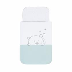 Saco Bebé Capazo Carro Bear Mint