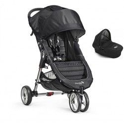Silla City Mini 3 + Capazo Deluxe