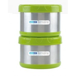 Set termos porta alimentos 2*500ml Bebé Due