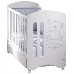 Cuna Micuna Sweet Bear 120*60