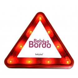 "Dispositivo de seguridad BabyLed ""Bebe a bordo"""