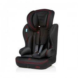 Silla automóvil Travel negro-rojo 815 de MS