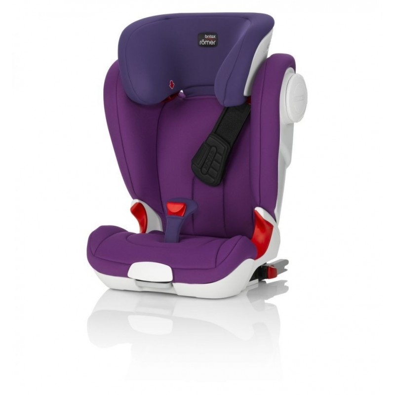 Silla de coche Kidfix II XP SICT  isofix Romer mineral purple
