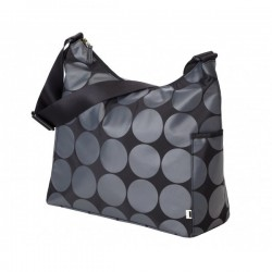 Bolso HOBO - Charcoal Dot - Lime Lining