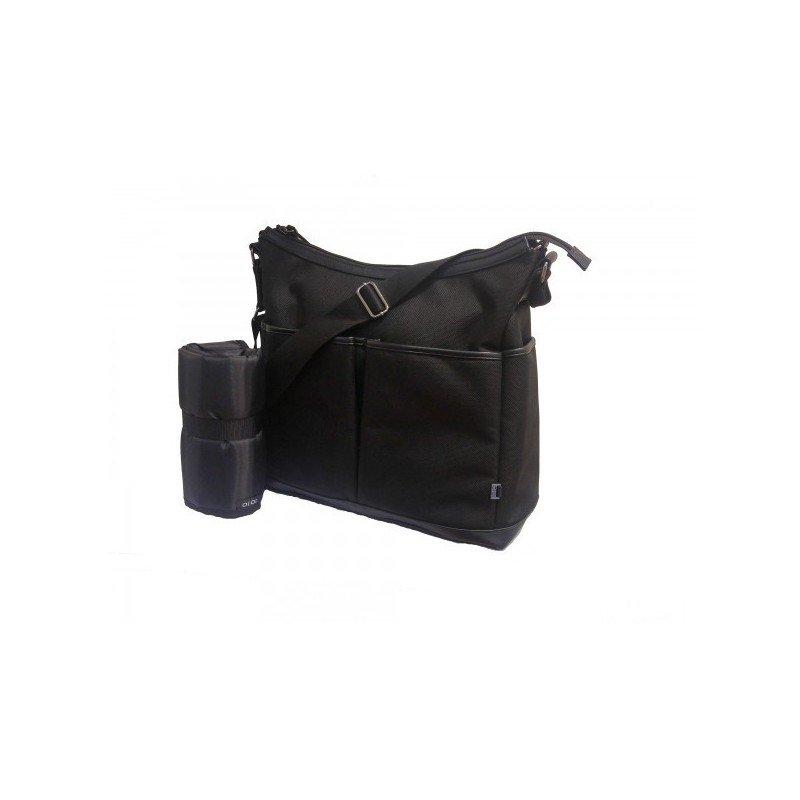 Bolso HOBO - Black two pockets
