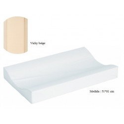 Cambiador de bañera flexible 80*50 Vichy beige