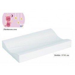 Cambiador de bañera flexible 80*50 Plastimoons rosa