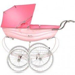 Coche Clasico Silver Cross Balmoral Pink Rosa