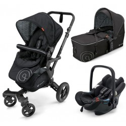 Trio Neo Mobility Set Air-Scout Midnight black