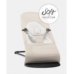 Hamaca BabyBjorn Balance Soft Selection beige-gris