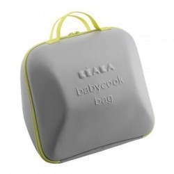 Bolsa maxi (Bag) para Babycook gris-pistacho