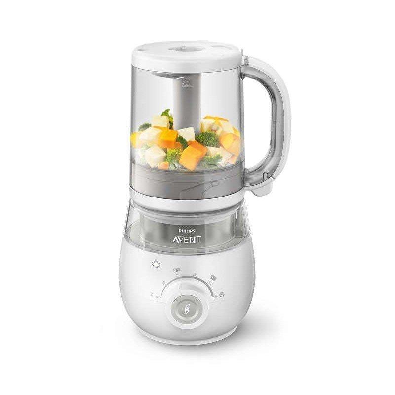 Robot de cocina vaporera 4 en 1 philips avent scf875 02 - Robot de cocina philips ...