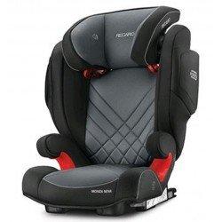Sillas de coche Monza nova Seatfix 2017 Carbon Black de Recaro