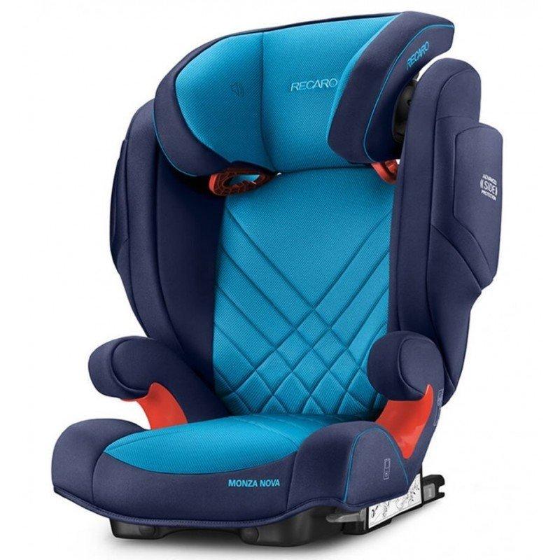 Sillas de coche Monza nova Seatfix Blue Xenon de Recaro
