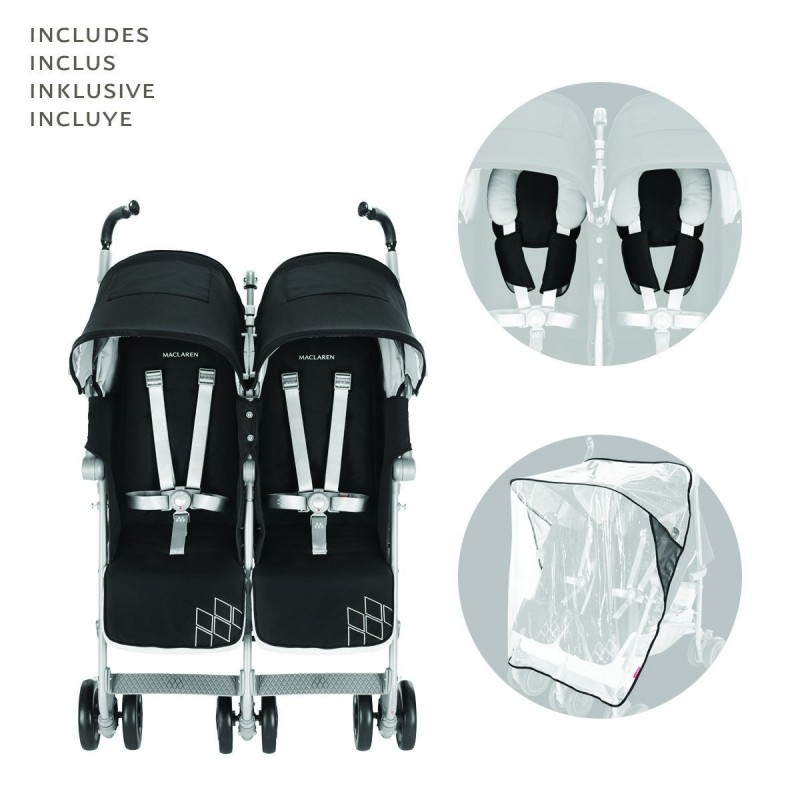 Silla Maclaren Twin Techno
