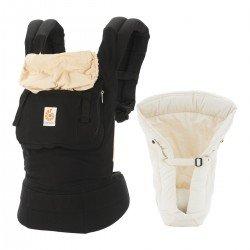 Pack evolutivo Original ergobaby Negro Camel