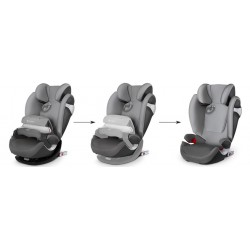 Silla de coche Cybex 2017 Pallas M-fix manhattan grey